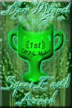 This's my AWARD by SquareEarth site